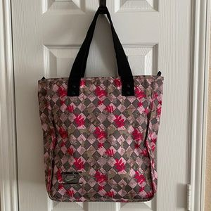 Nike Pink & Green Camouflage Tote